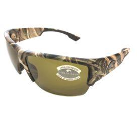 Costa Del Mar Hatch Sunglasses - Mossy Oak SGB Camo Frame - Polarized Sunrise Lens 580P