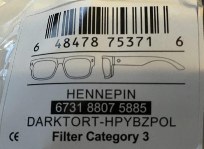 Spy Optics Hennepin Sunglasses - Dark Tortoise - POLARIZED Happy Bronze