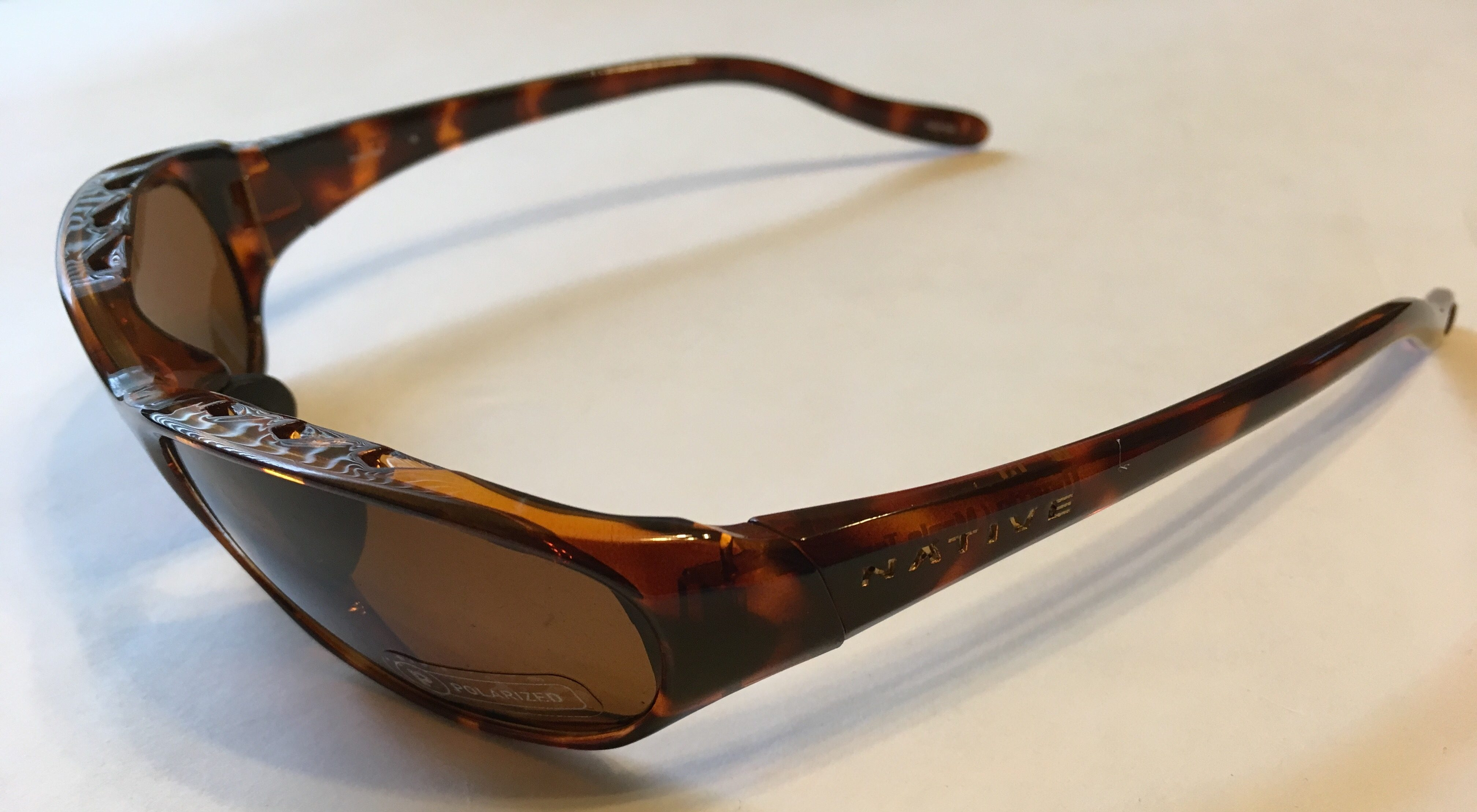 327fb00992 Native Eyewear Throttle Sunglasses - Maple Tortoise - POLARIZED Brown Lens