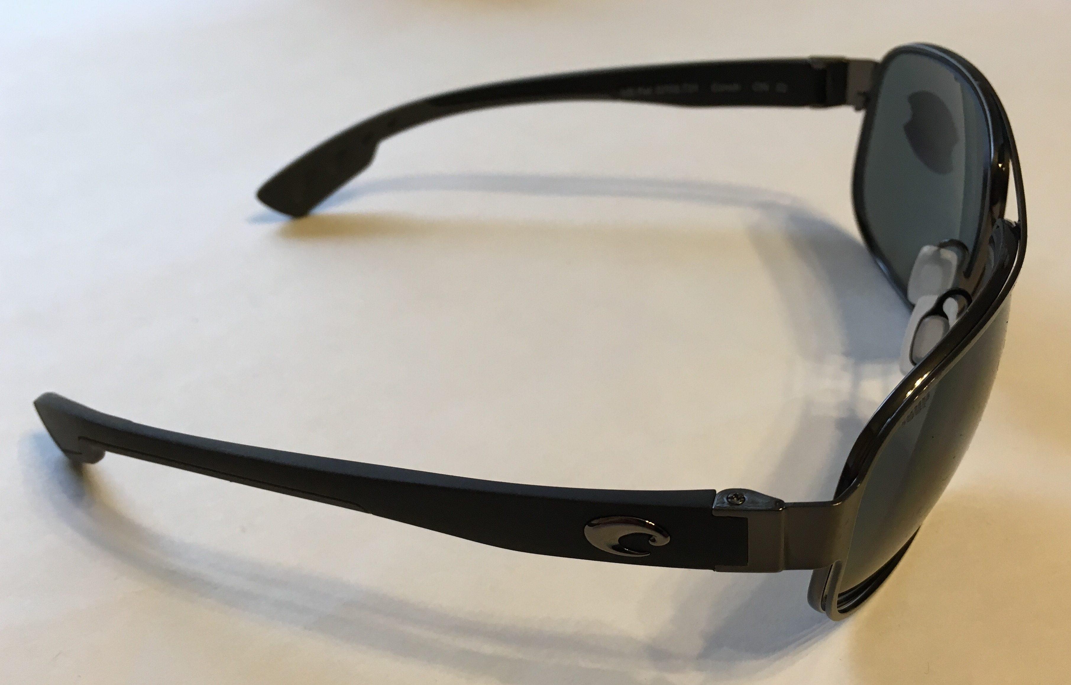 f42c6097976fd Costa Del Mar Conch Sunglasses - Gunmetal Frame - POLARIZED Gray 580P