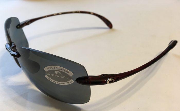 Costa Del Mar Destin Sunglasses - Tortoise Frame - POLARIZED Dark Gray 580P