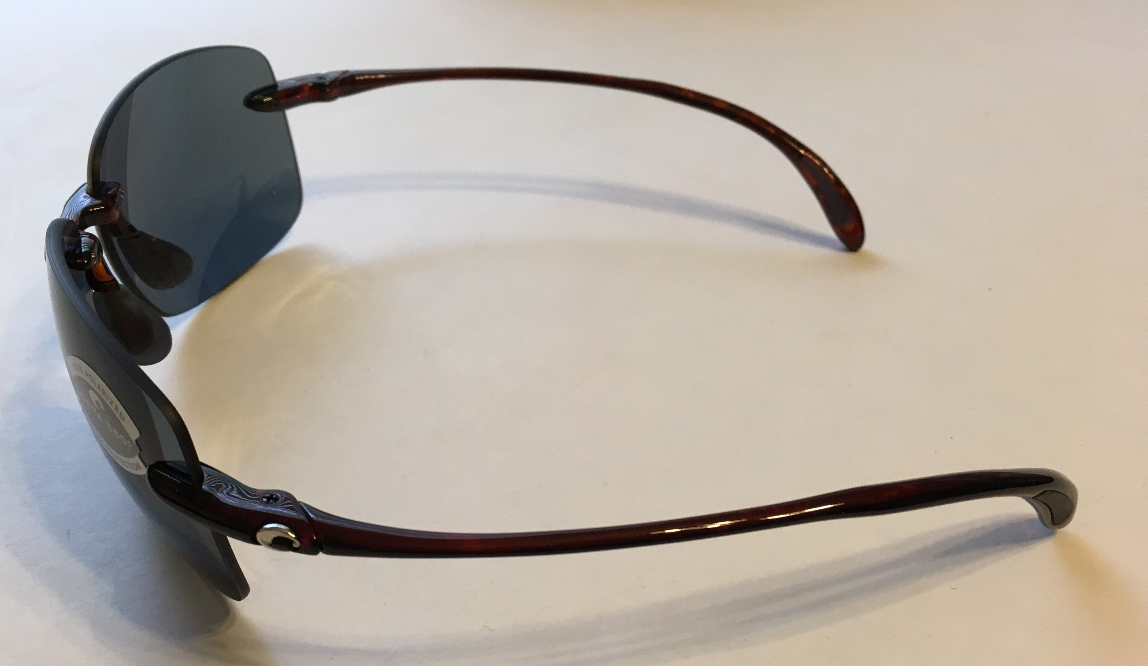 f7eb4c41cf Costa Del Mar Destin Sunglasses - Tortoise Frame - POLARIZED Dark Gray 580P