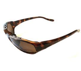 Native Eyewear Throttle Sunglasses - Maple Tortoise Frame - Polarized Brown Lens