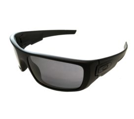 Oakley Crankshaft Sunglasses Covert Collection - Matte Black Frame - Grey Lens OO9239-12
