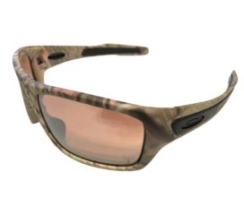 NEW Oakley Turbine Sunglasses - Woodland Camo - VR28 Black Iridium - OO9263-28