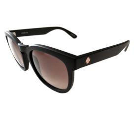 Spy Optics Quinn Sunglasses - Femme Fatale Matte Black Fram - Bronze Fade Happy Lens