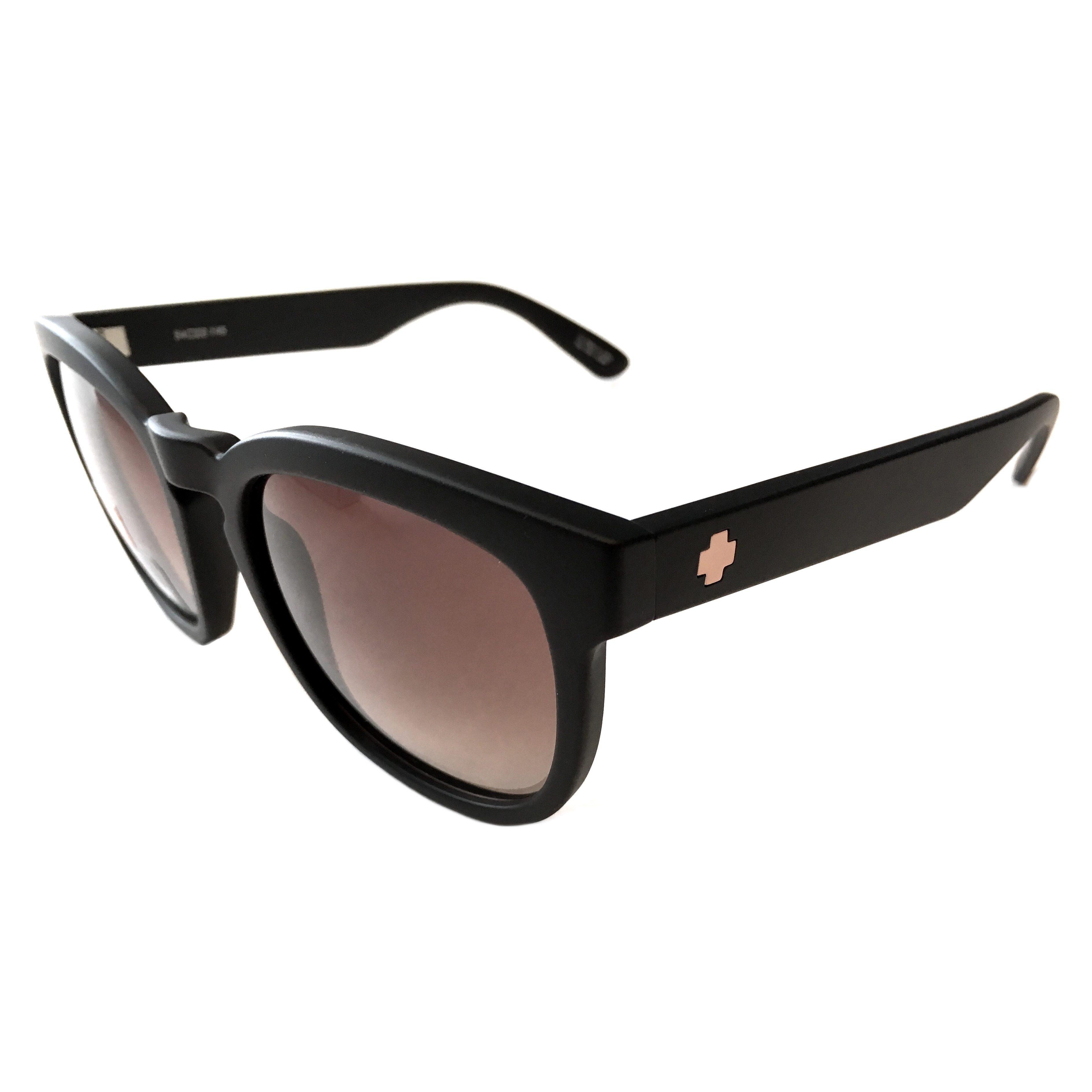6fe2613dced Spy Optics Quinn Sunglasses – Femme Fatale Matte Black Fram – Bronze Fade  Happy Lens