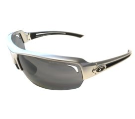 Tifosi Optics Just Sport Sunglasses - Gloss Gunmetal Frame - Smoke Gray Lenses