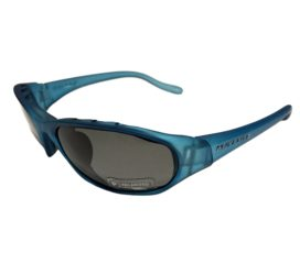 Native Eyewear Throttle Sunglasses - Glacier Frost Blue Frame - Polarized Gray Lens