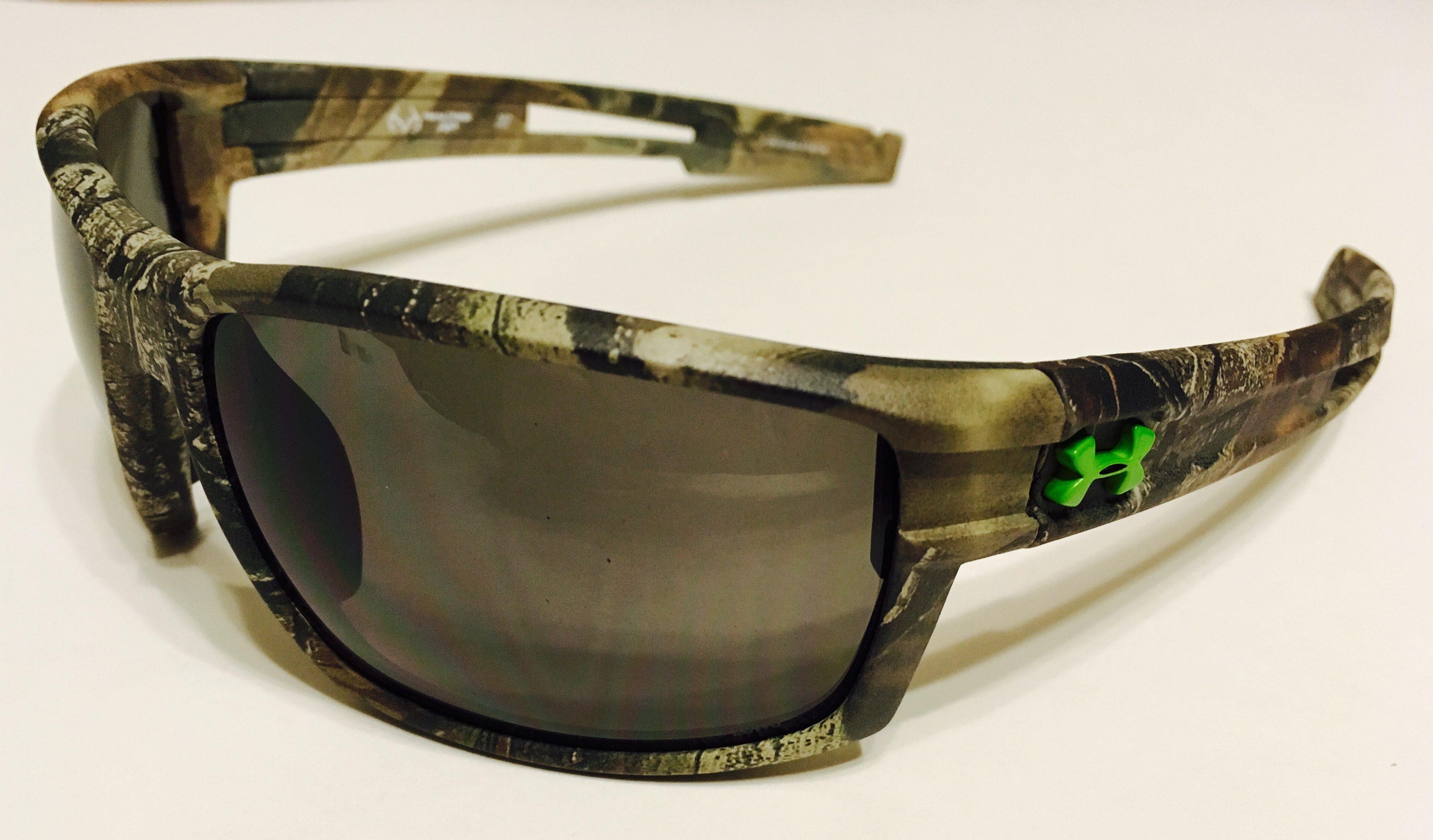 68fcc387b8 Under Armour Captain Sunglasses UA - Satin Camo Realtree - Gray ANSI Z87.1
