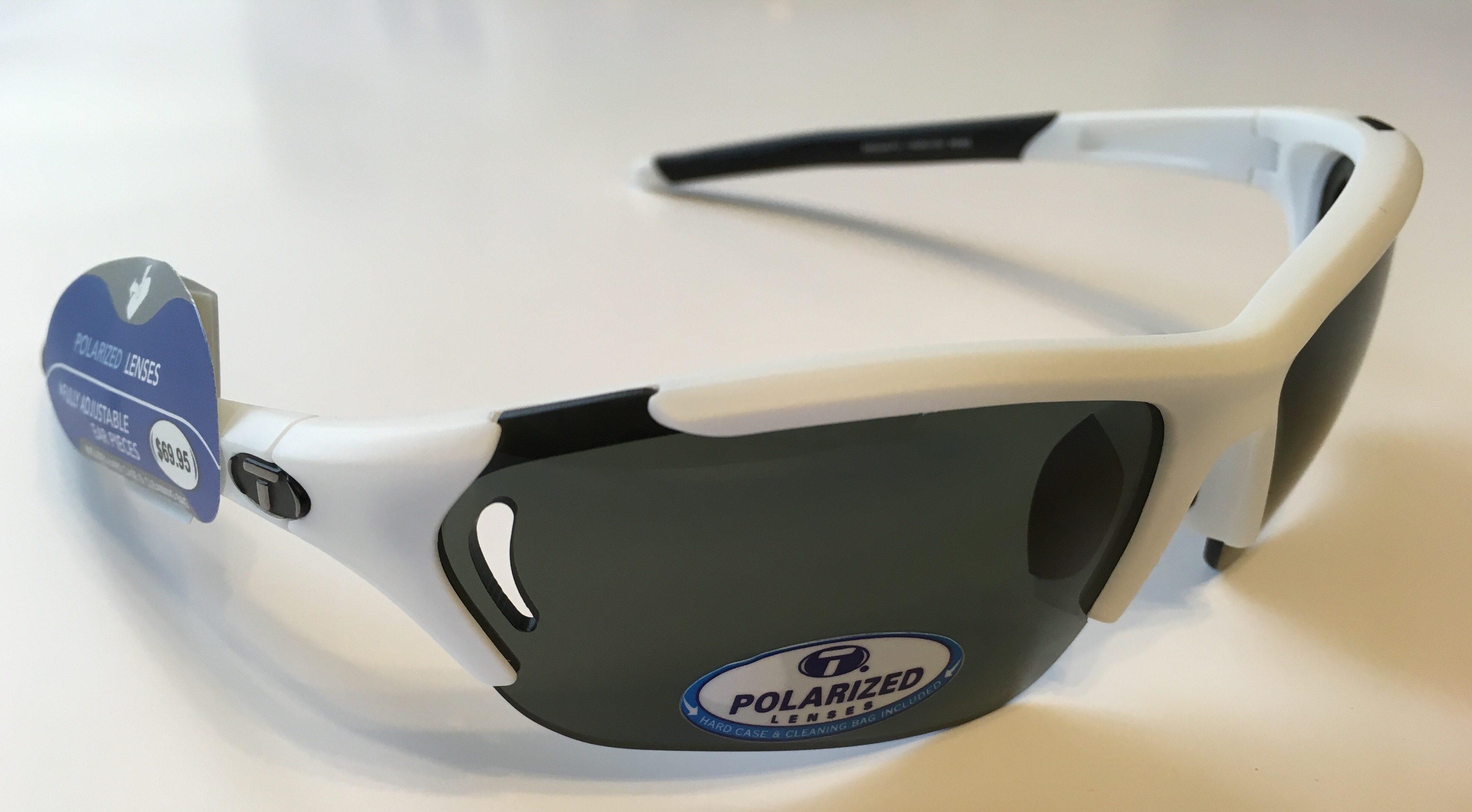 709c692b62 Tifosi Optics Radius FC Sunglasses - Matte White - POLARIZED Smoke Lens