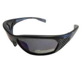 Native Eyewear Andes - Matte Black  - Polarized Blue Reflex Lens w/ Extra Sportflex Lens
