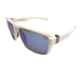Under Armour Recon Sunglasses UA - Shiny White Frame - Blue Multiflection Lenses