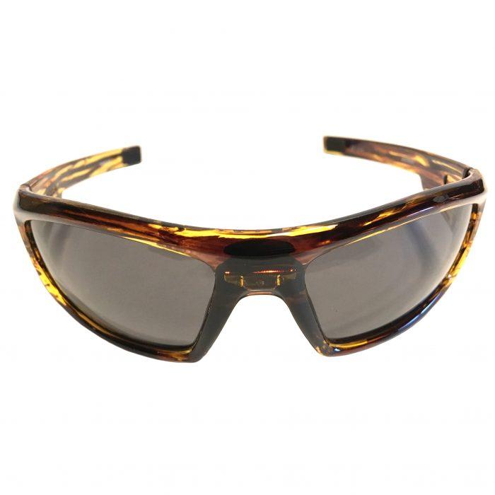 Under Armour Power Sunglasses UA - Fire Tortoise Frame - Gray Lens