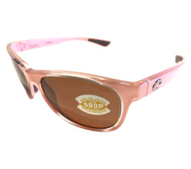 Costa Del Mar Prop Sunglasses - Coral Pink - POLARIZED Amber 580P