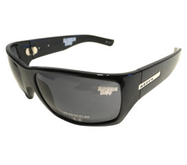 Hoven Vision Times Sunglasses - Limited Edition Green Day Heart Grenade Black - Grey Lenses