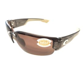 Costa Del Mar Rockport Sunglasses - Crystal Bronze Frame Polarized Copper 580P Lens