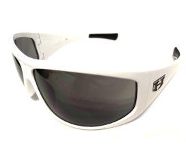 Hoven Vision Law Sunglasses - White Grilamid Frame - Gray Lens - Model 41-7501