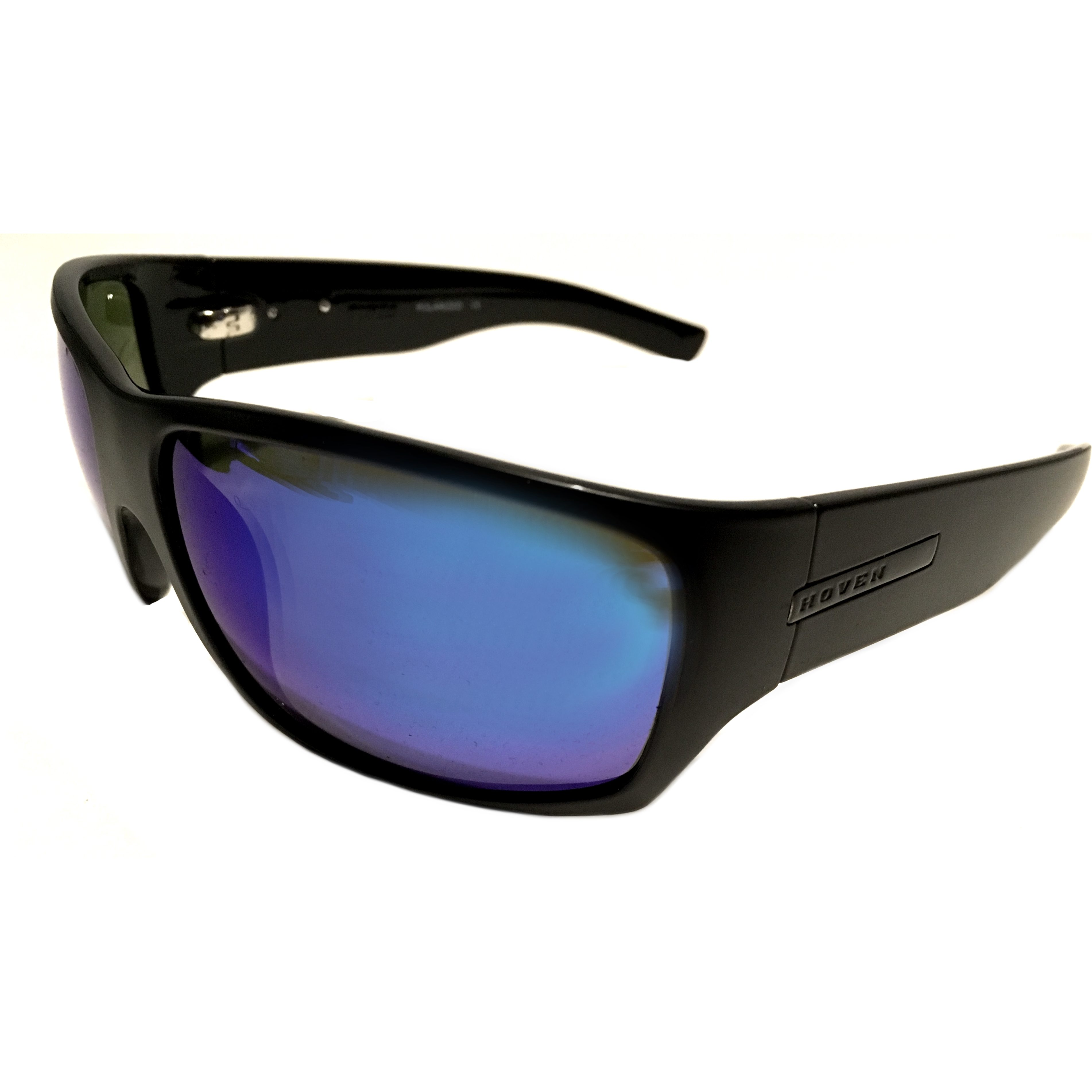 Hoven Vision Times Sunglasses - Black - ANSI Compliant - POLARIZED Tahoe Blue