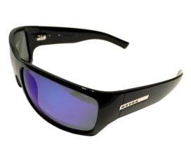 Hoven Vision Times Sunglasses - Gloss Black Frame - Polarized Tahoe Blue Lens