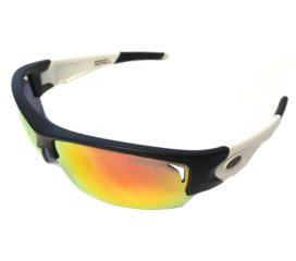 Tifosi Optics Lore SL Sunglasses - Black & White Frame - Clarion Red Mirror Lens