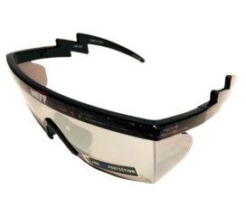 Neff Headwear Brodie Sunglasses - Black Static 80's Retro Frame - Includes 2 Lenses