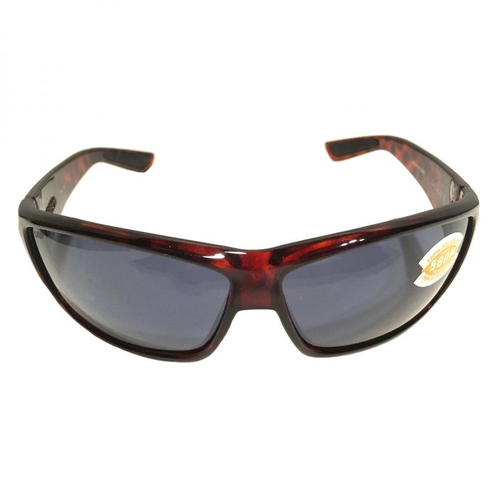 Costa Del Mar Cat Cay Sunglasses - Tortoise Frame - POLARIZED Gray 580P Lens