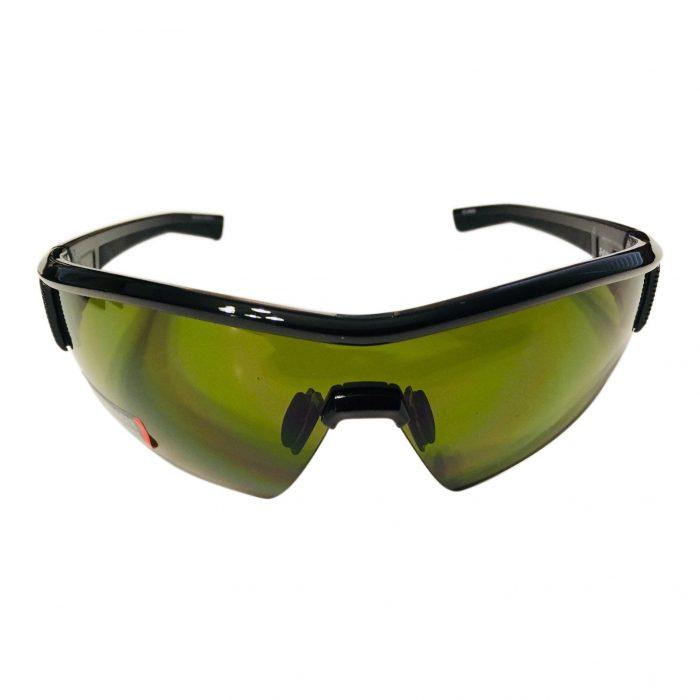 Under Armour Fire Sunglasses UA - Gloss Shiny Black Frame - Game Day Lens