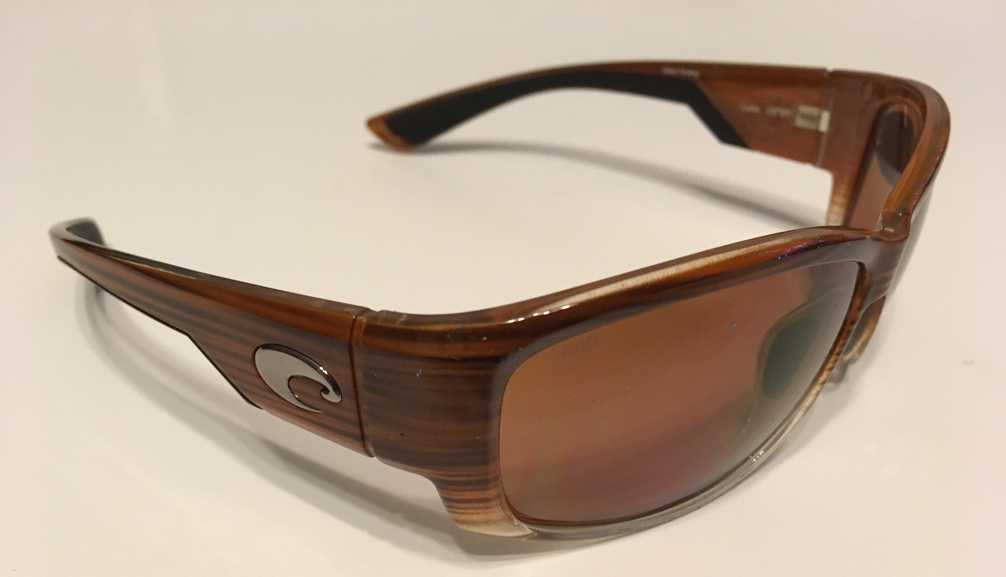 b4d394a59ccc Costa Del Mar Luke Sunglasses - Wood Fade Frame - Polarized Copper ...