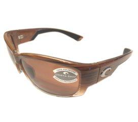 Costa Del Mar Luke Sunglasses - Wood Fade Frame - Polarized Copper 580P Lens