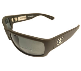 Hoven Vision Highway Sunglasses - Brown Matte Frame - Polarized Gray Lenses