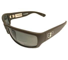Hoven Vision Highway Sunglasses - Brown Matte Frame - Polarized Gray Lenses