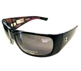 Hoven Vision Ritz Sunglasses - Black Frame - Green Day Edition - Polarized Gray