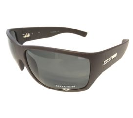 Hoven Vision Times Sunglasses - Brown Matte Frame - Polarized Grey Lens