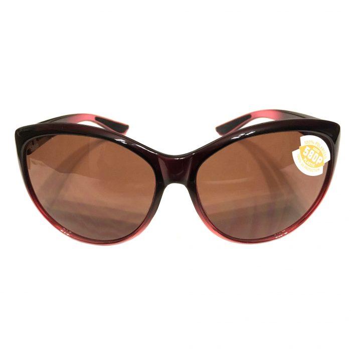 Costa Del Mar La Mar Sunglasses - Pomegranate Fade Frame - Polarized Copper 580P Lens