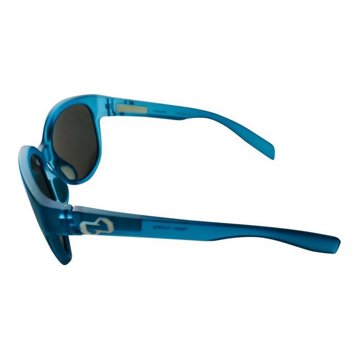 Native Eyewear Pressley Sunglasses - Glacier Blue Frost Frame - Polarized N3 Gray Lens