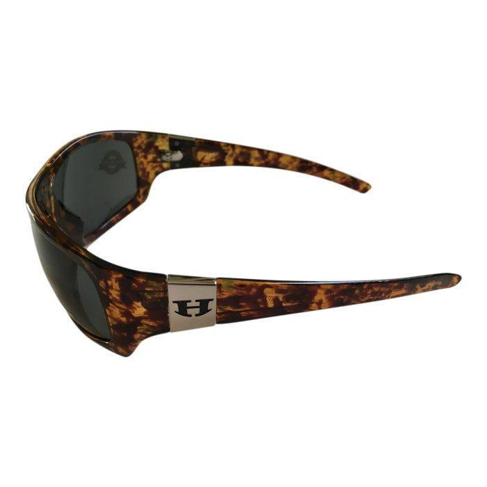 Hoven Vision Easy Sunglasses - Emerald Tortoise Frame - Polarized Gray Lenses