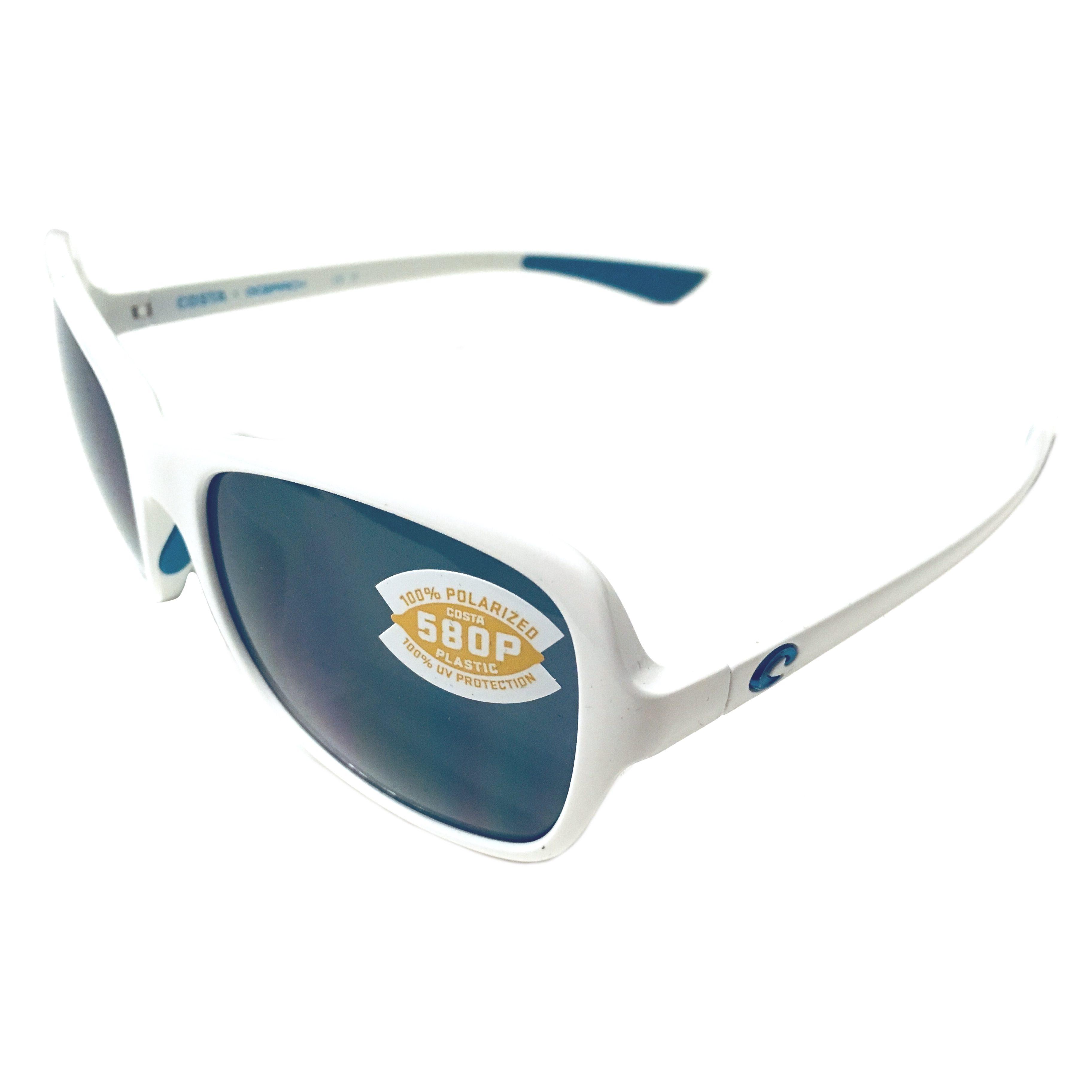 dd5d3a469ed6 Costa Del Mar Kare Sunglasses - Great White Ocearch - POLARIZED Gray 580P