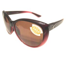 Costa Del Mar La Mar Sunglasses - Pomegranate Fade Frame - Polarized Copper 580P Lens