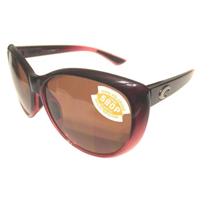 Costa Del Mar La Mar Sunglasses - Pomegranate Fade - POLARIZED Copper 580P