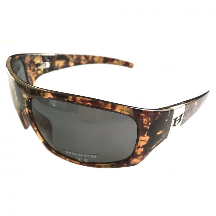 Hoven Vision Easy Sunglasses - Emerald Tortoise - POLARIZED Grey