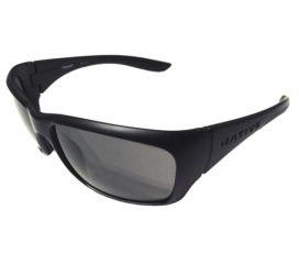 Native Eyewear Kannah Sunglasses - Matte Black - POLARIZED N3 Gray