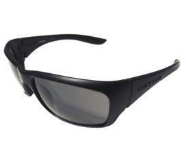 Native Eyewear Kannah Sunglasses - Matte Black Frame - Polarized N3 Gray Lenses
