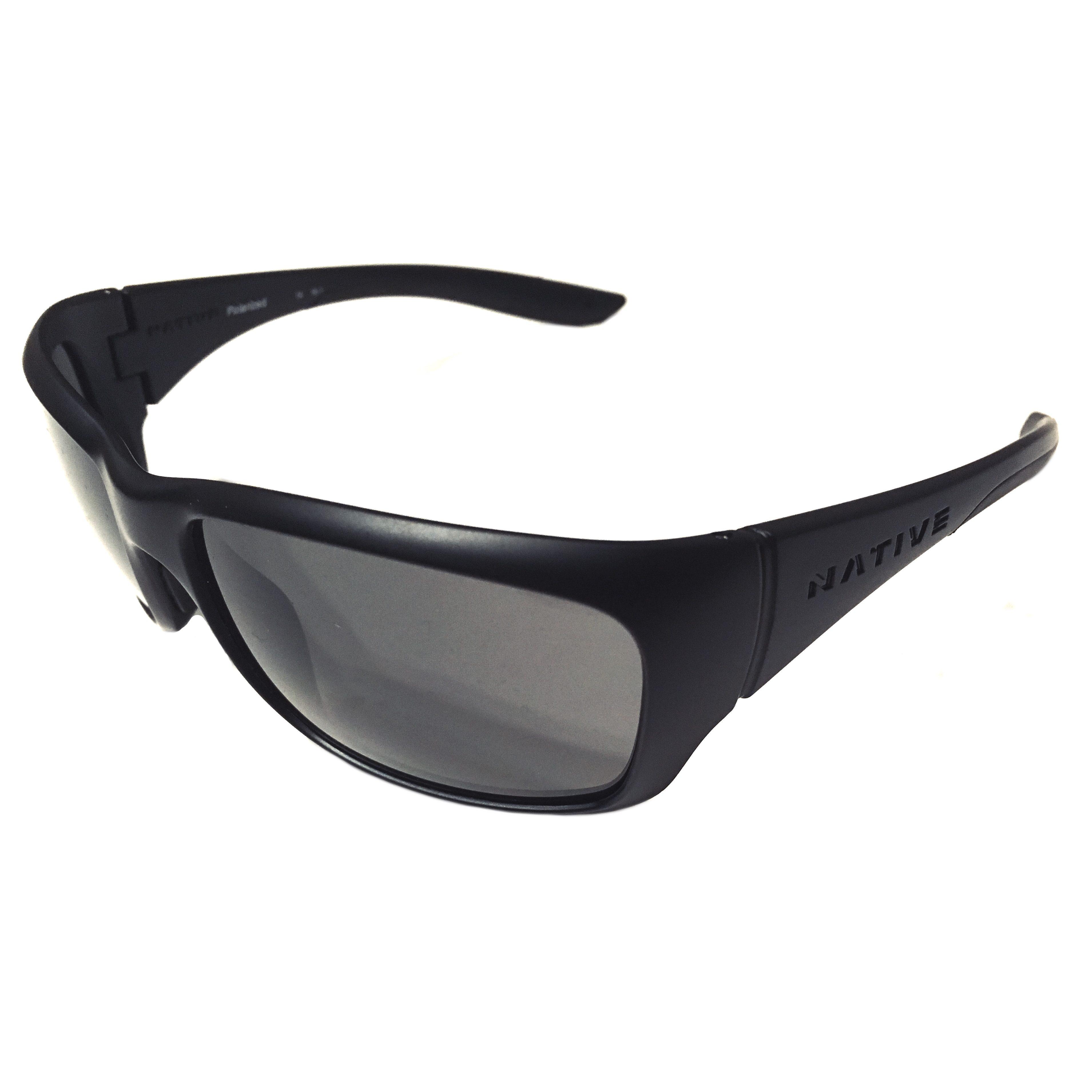 e056727e02 Native Eyewear Kannah Sunglasses – Matte Black Frame – Polarized N3 ...