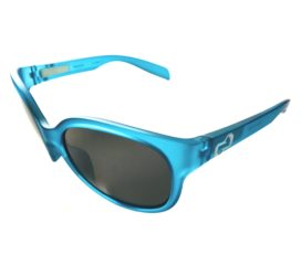 Native Eyewear Pressley Sunglasses - Glacier Blue Frost Frame - Polarized N3 Gray Lens