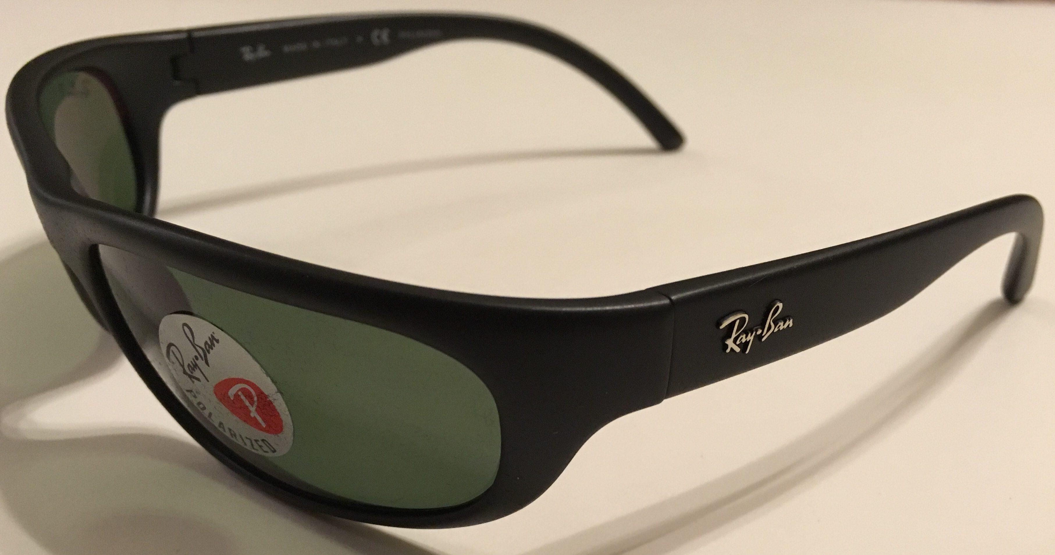 Ray Ban Predator Sunglasses Black Frame Polarized G 15