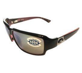 Costa Del Mar Peninsula Sunglasses - Black Coral Frame - Polarized Green Mirror 400G