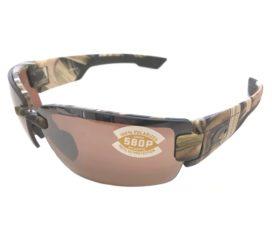 Costa Del Mar Rockport Sunglasses - Mossy Oak Camo - Polarized Silver Mirror 580P