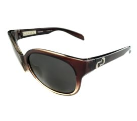 Native Eyewear Pressley Sunglasses - Stout Fade Brown Frame - Polarized Gray Lens N3