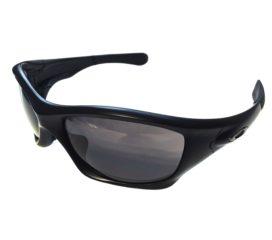 Oakley Pit Bull Sunglasses - Asian Fit - Matte Black Frame - Warm Gray OO9161-04